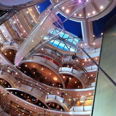 Radiance of the Seas Atrium