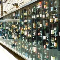 Beer Wall; Bruges