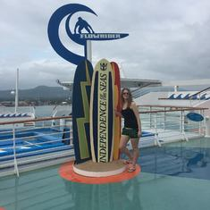 Flowrider (on board the ship)