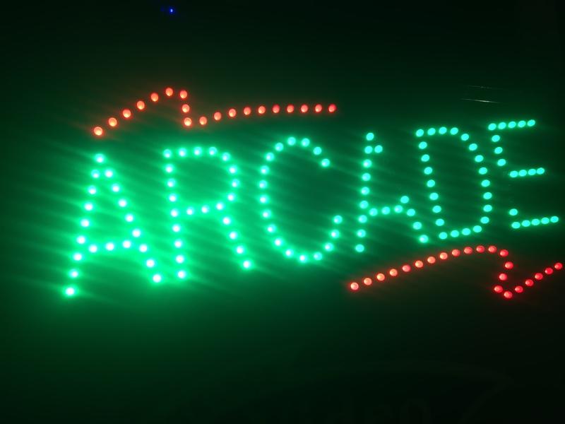 Arcade Sign - Norwegian Spirit