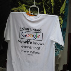 I saw this T Shirt in A shop