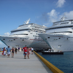 Docked in Cozumel