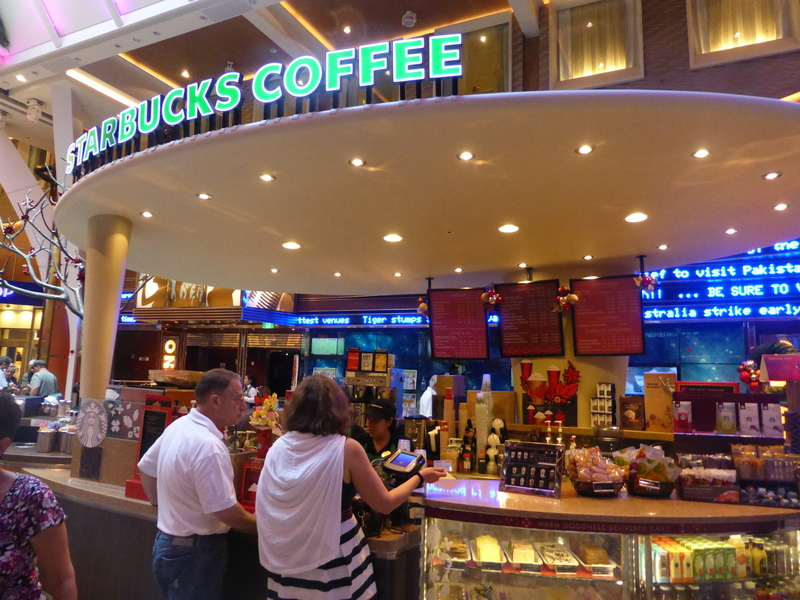 Starbuck's - Allure of the Seas