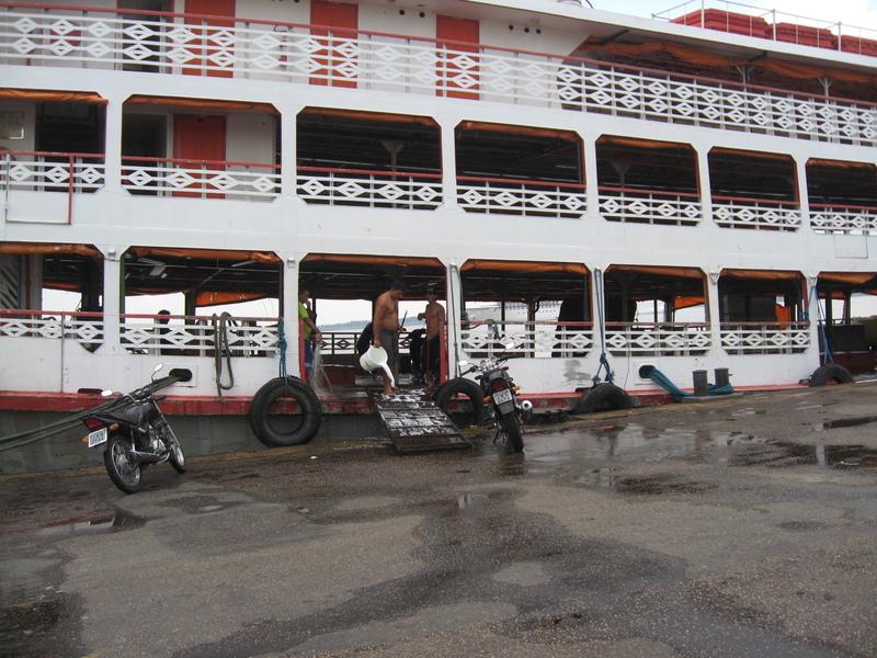 Standard form of transportation on river, 3 days, you bring your own hammock - Seven Seas Navigator