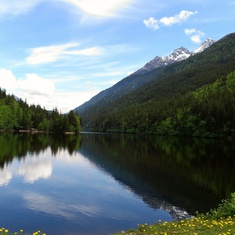 Skagway, Alaska - Lower Dewey Lake, a beautiful hike in Skagway
