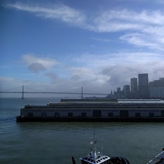 San Francisco from port