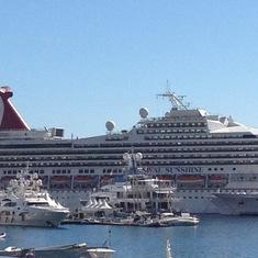 In port, Monte Carlo