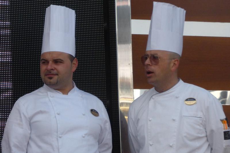 Chefs - MSC Divina