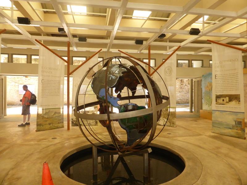 Globe Inside Center - Carnival Dream