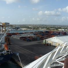 Bridgetown, Barbados - Not-so-nice view at Barbados pier