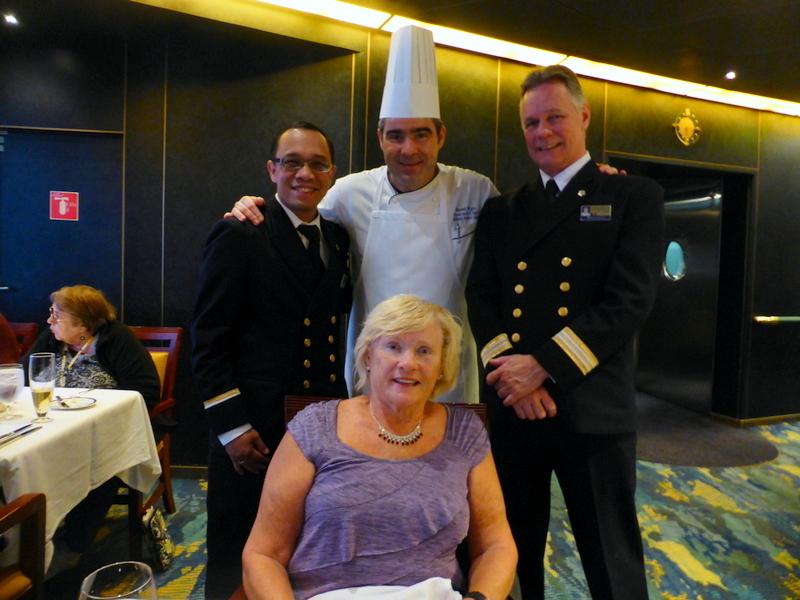of Amsterdam Cruise on Dec 08 2014 Asst Dining