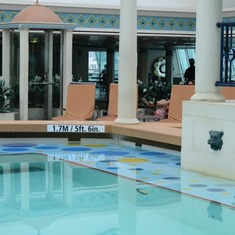 The Solarium Pool- Very relaxing