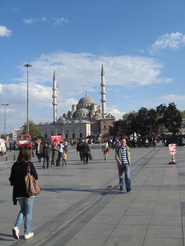 Istanbul, Turkey - Mosk--Two minarets--Istanbul
