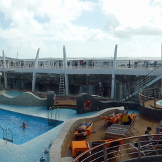 Panoramic of ship