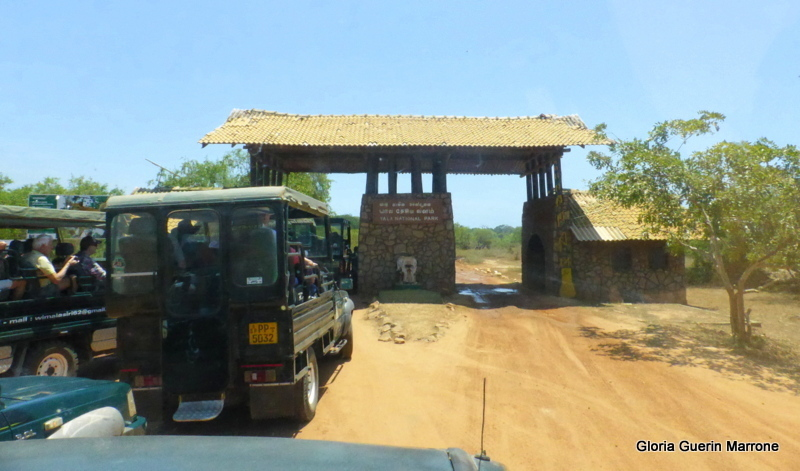 Hambantota, Sri Lanka - Entering Yala National Park, Sri Lanka
