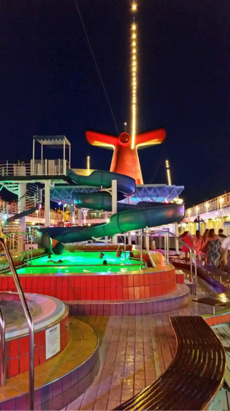 Carnival Elation, Pools, Pool