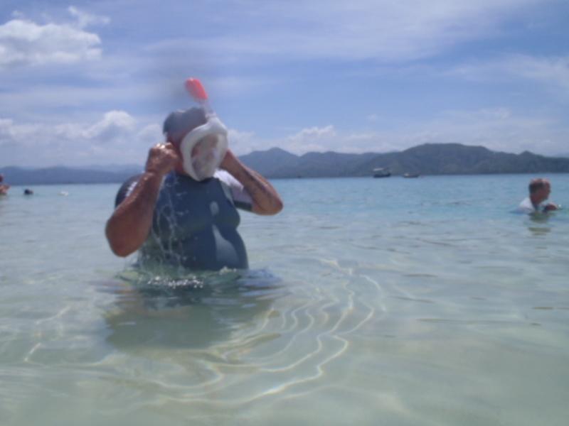 snorkeling at sandbar - Oasis of the Seas