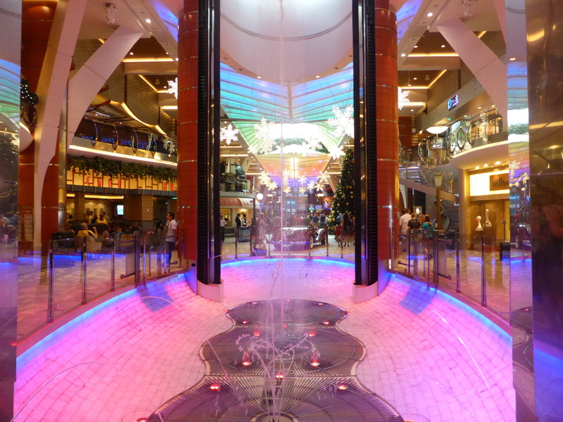 Location of Rising Bar - Allure of the Seas