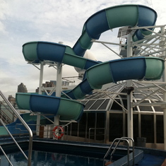 Water slide, Carnival Splendor