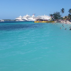 Nassau, Bahamas - At the beach in Nissan
