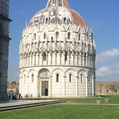 Baptistery at Pisa