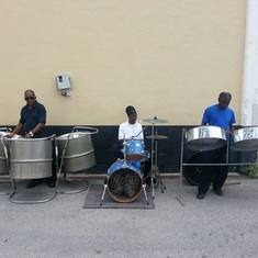 Steel Drum Band in Barbados