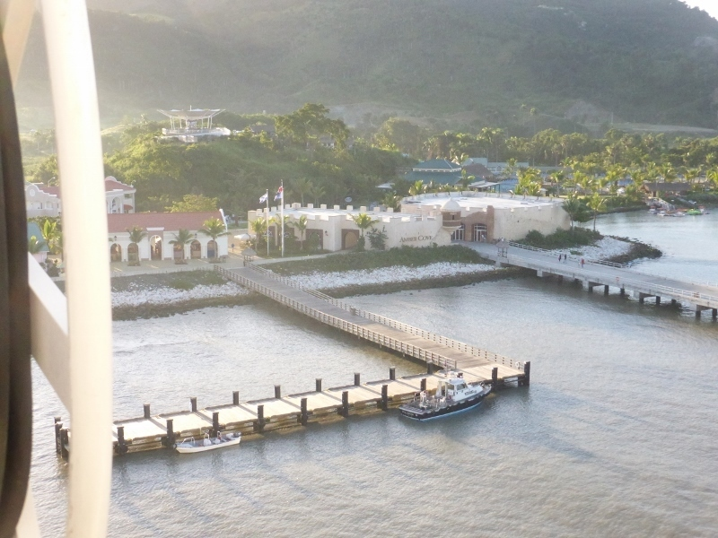 Port at Amber Cove - Koningsdam