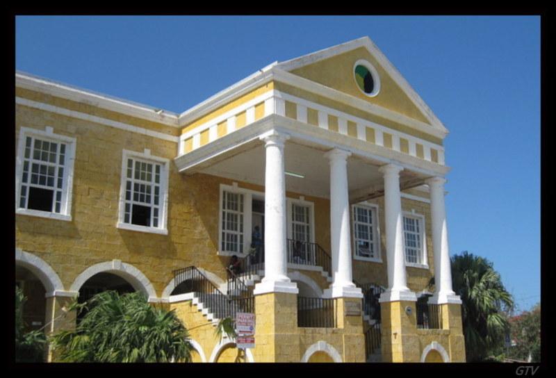 Falmouth, Jamaica - Court House Falmouth, Jamaica