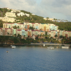 Departing St. Thomas