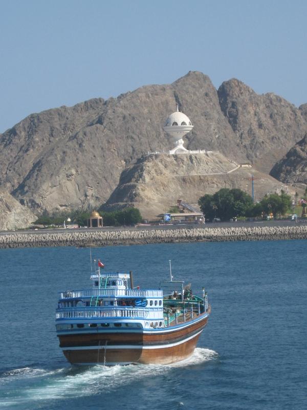 Muscat--Capital of Oman - Seven Seas Mariner