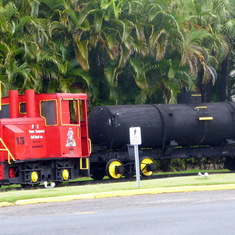 Bacardi Outdoor Train Exhibit