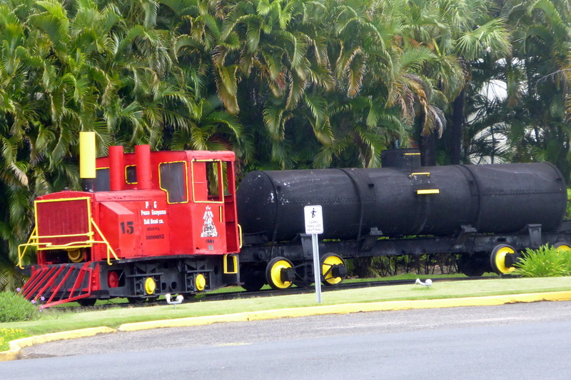 Bacardi Outdoor Train Exhibit - Carnival Liberty