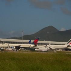 Philipsburg, St. Maarten - The main terminal