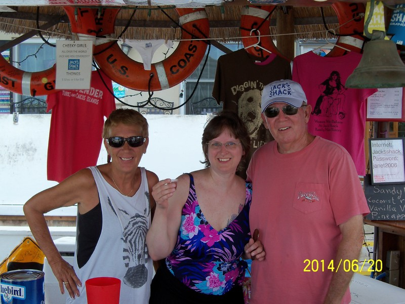 Grand Turk Island - Jack's Shack, Grand Turk. Our go to place for now on.