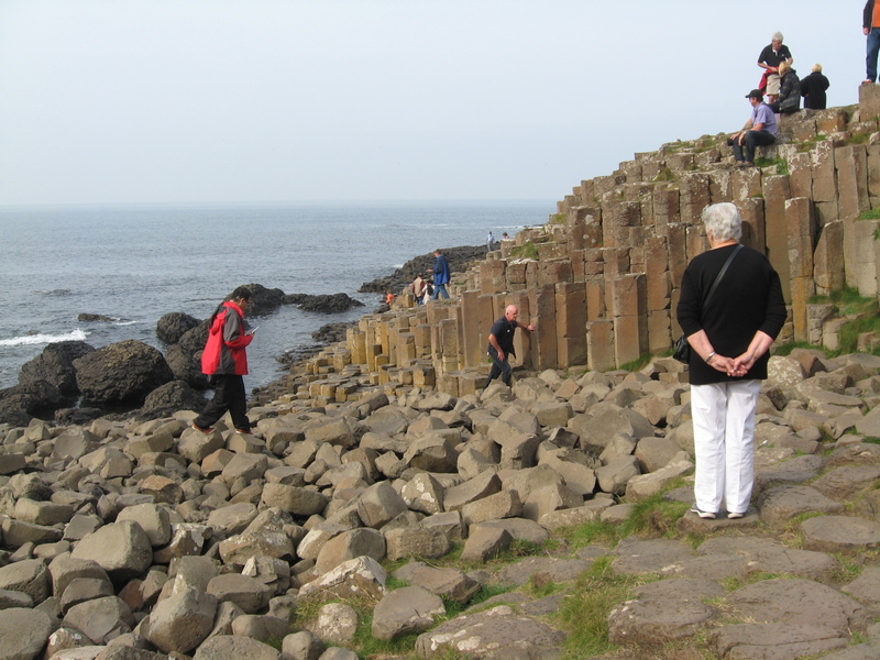 Cork, Ireland--Giant's Causeway, world famous basalt column rock formations - Royal Princess
