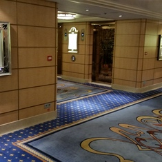 Aft ship - Elevators lobby