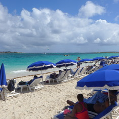 St Maarten (French side): Orient Beach
