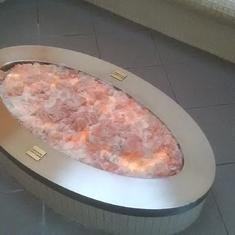 Center piece in the salt room