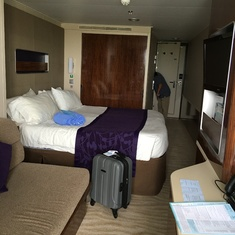 my first cruise room