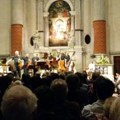 Vivaldi concert by Interpreti Veneziani, Venice, Italy