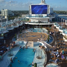 Ft. Lauderdale (Port Everglades), Florida - Sun deck