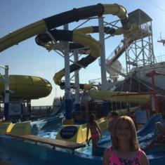 Carnival Waterworks on Carnival Dream