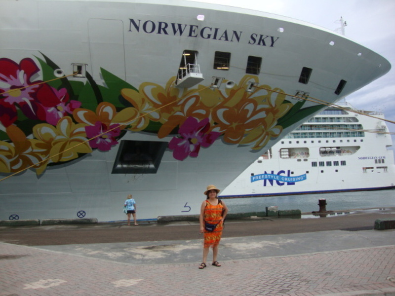 Going  Offshore  @  Nassau - Norwegian Sky