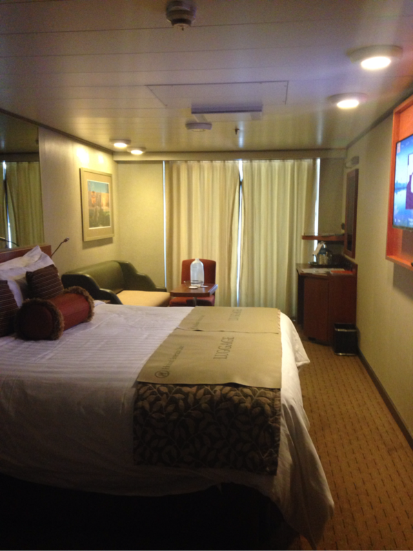 Balcony Cabin 4185 On Eurodam Category Yq