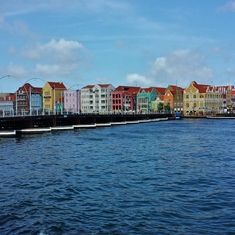 Queen Emma pontoon bridge, Willemstad, Curacao