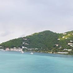 Approaching Tortola