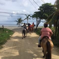 Honduras Horseback