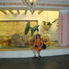 Visiting   Hotel  Atlantis @  Nassau