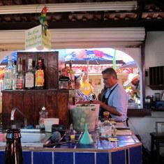 Mazatlan Cruise Terminal Bar