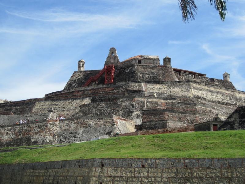 Cartagena, Colombia - Castillo de San Felipe de Barajas, fortress in Cartagena